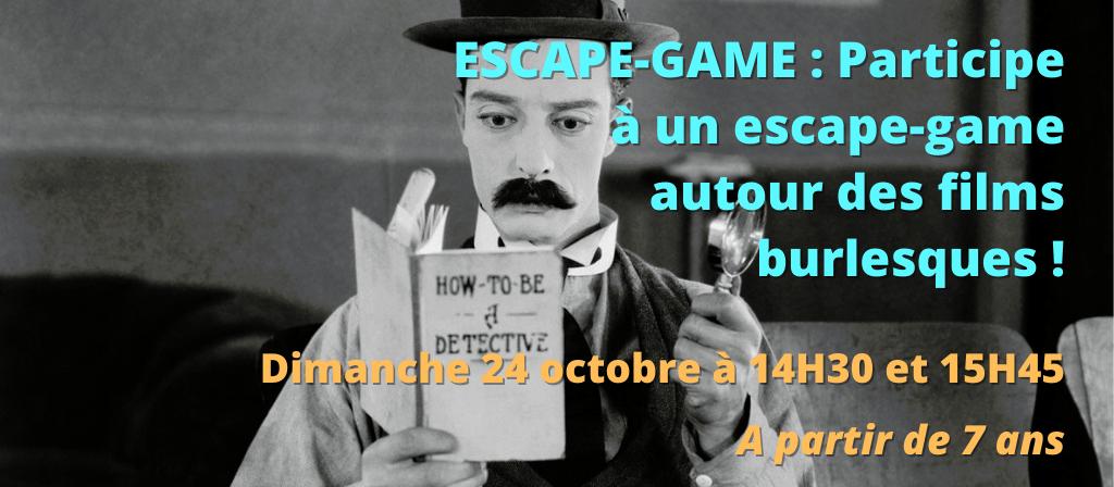 actualité ESCAPE-GAME